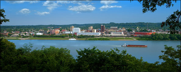 The Skyline of Huntington, WV: hqpublishing.com/about.php